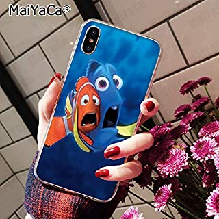 Inspired by finding nemo & dory Phone Case Compatible With Iphone 7 XR 6s Plus 6 X 8 9 Cases XS Max Clear Iphones Cases TPU Silicone - Zor Vynl Game - Underwear Lotzo - 32969262860