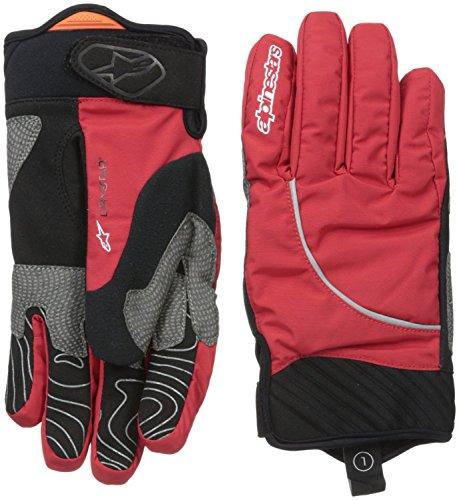 Alpinestars Nimbus Handschuh, Rot/Weiß, Größe S