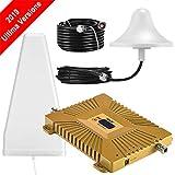 yuanj Amplificateur Signal Téléphone Portable Double Bande Répéteur GSM...