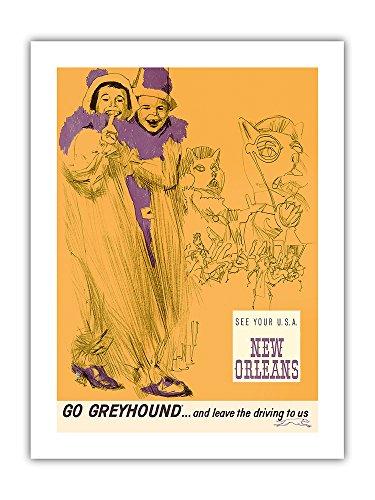 Nueva Orleans - Mardi Gras - Vaya a Greyhound ... y déjenos...