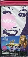 Disney Hannah Montana Hannah Jams Standard Size Reversible Pillowcase [並行輸入品]