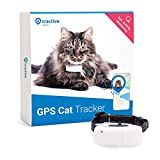 Tractive GPS Cat Tracker (2021) with Custom Cat Collar, Follow them Everywhere, 24/7 Location and 365-day History