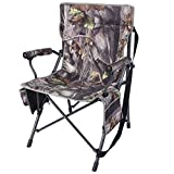 REDCAMP Camping Chairs for Adults Heavy Duty, Sturdy Steel Folding Lawn Chair with Padded Hard Arms...