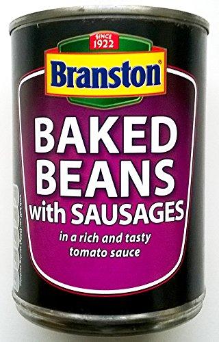 Fagioli Branston al forno con salsicce - 3 x 405gm