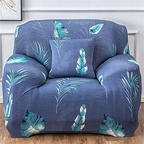 ALWWL Cubiertas de sofá de Tejido de poliéster Super elástico, Cubierta Protector de Muebles para Sala de Estar, Funda de sofá Jacquard con la Misma Funda de Almohada de Estilo- Pattern 3   1 Seater