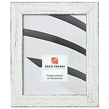 Craig Frames Jasper Picture Frame 18 x 24 Inch Country Marshmallow White