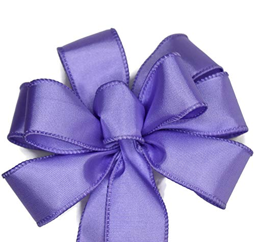 Small 5-6' Wired Lavender Purple Bow