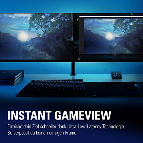 Elgato 4K60 Pro MK.2, 4K60 HDR Capture und Passthrough, PCIe Capture Card, Ultra-Low-Latency Technologie, PS5, PS4 Pro, Xbox Series X/S, Xbox One X