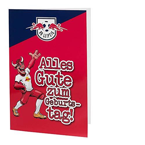 RB Leipzig Birthday Karte, Unisex One Size - Original Merchandise