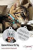 Snout Fashion Pottercat, en Acier Inoxydable pour Animaux de Compagnie - Harry Potter dans Le Monde des Chats