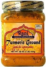Rani Turmeric (Haldi) Root Powder Spice, (High Curcumin Content) 16oz (454g) 1lb ~ All Natural | 100% Pure, Salt Free | Ve...