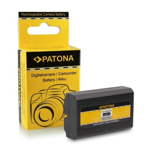 PATONA Bateria EN-EL1 Compatible con Nikon Coolpix 4300 4800 5000 5700 8700