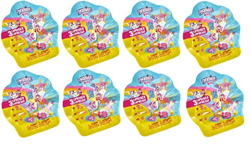 FingerLings Minis Series 2 Mystery Pack Party Favors/Treats -Bundle of 8 -