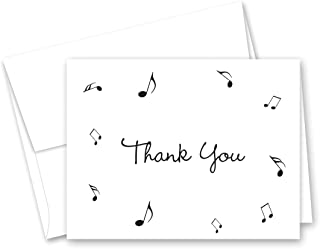 thank you music cards