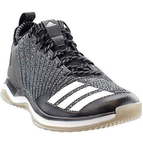 adidas Mens Icon Trainer Cross Training Casual Shoes, Black, 9.5