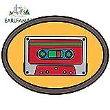 OLUYNG Sticker de Carro 13 cm para Audio de Coche, Pegatinas en Blanco, calcomanía Delgada portátil, Aire Acondicionado a Prueba de arañazos, decoración de impresión PersonalizadaYT-64649