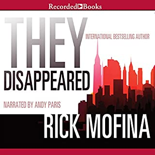 They Disappeared audiobook cover art