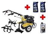 Cultivateur motoculteur à essence/6 PS avec charrue