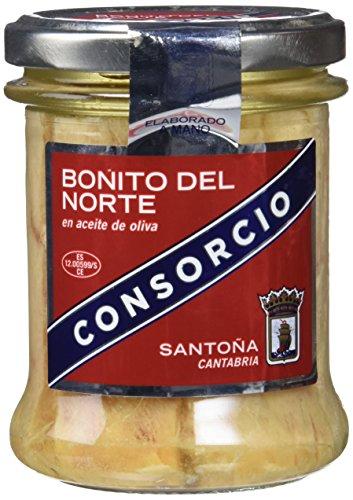 Consorcio Bonito en Aceite de Oliva - 6 Paquetes de 195 gr - Total: 1170 gr