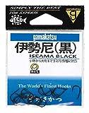がまかつ(Gamakatsu) 伊勢尼(黒) 5号