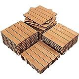 Yaheetech Wood Flooring Pavers