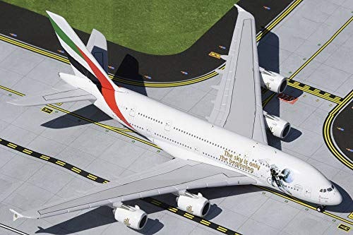 GeminiJets Emirates Airline Airbus A380 A6-EEH 1/400 diecast Plane Model Aircraft