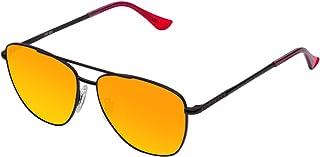 Hawkers Men's X Steve Aoki NEON LAX DAYLIGHT HNLAX02 Rectangular Sunglasses, Orange, 12 mm