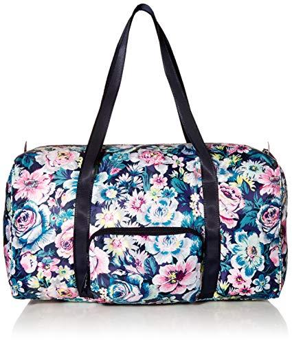 Vera Bradley Women's Packable Duffel Travel Bag, Garden Grove, One Size