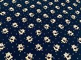 telas de algod├│n por metros, tela de sudadera, tela de monstruos FLUORESCENTE, tela el├бstica, se ilumina en la oscuridad, 1 metro x 140 cms, ENVIOS GRATUITOS