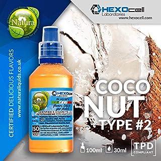 E LIQUID PARA VAPEAR - 30ml Coconut Type #2 (Coco Extra Aromático) Shake