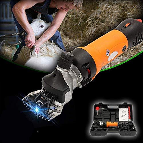 Esquiladora ovejas tijeras profesionales para aseo de animales de servicio pesado,tijeras eléctricas...