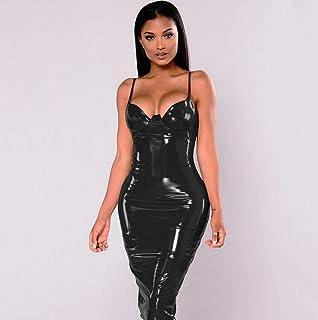 8cf72059ae8e Amazon.es: latex catsuit - L / Mujer: Ropa