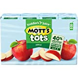 Mott's For Tots Apple Juice Drink, 6.75 Fluid Ounce Box, 8 Count (Pack of 4)