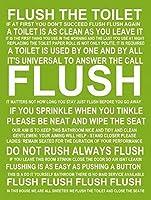 警告錫標識バスルームフラッシュルール金属標識通知安全セキュリティサイン通り装飾