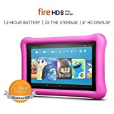 Fire HD 8 Kids Edition Tablet, 8' HD Display, 32 GB, Pink Kid-Proof Case (Previous Generation - 7th)