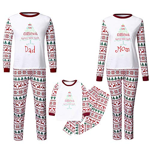 LUNULE Pijamas Dos Piezas Familiares de Navidad