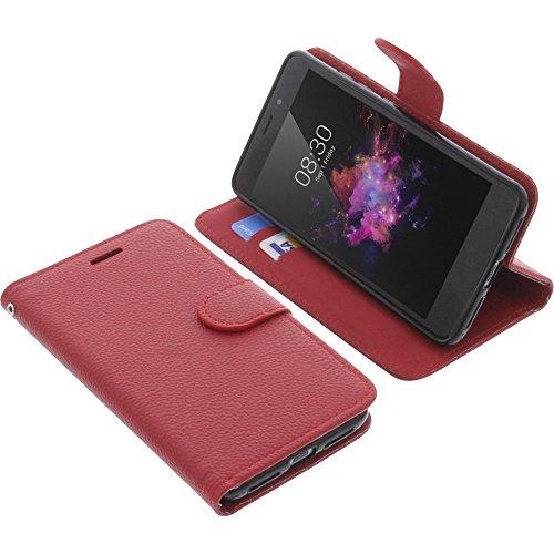 foto-kontor Tasche für TP-Link Neffos X1 Book Style rot Schutz Hülle Buch