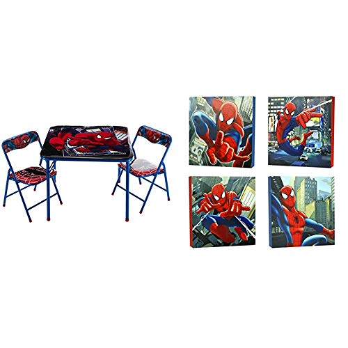 Product Image of the Marvel Spider-Man 3-Piece Table and Chair Set
