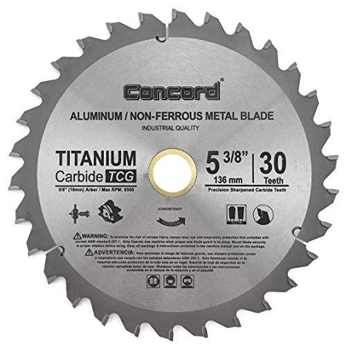 Concord Blades ACB0725T080HP 7-1/4' 80 Teeth TCT Non-Ferrous Metal Saw...