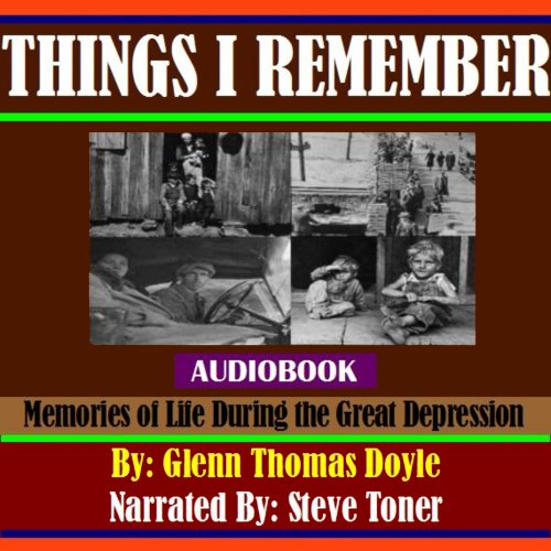 Things I Remember audiobook cover art