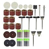Kit de accesorios de herramientas rotativas para broca de 144 Uds, Herramienta de corte, lijado, pulido, herramientas, accesorios abrasivos-144 piezas conjunto
