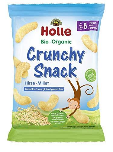 Holle - Crunchy Snack Hirse bio - 25 g - 12er Pack