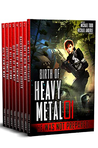 Birth of Heavy Metal Complete Boxed Set (Books 1-8): The Zoo by [Michael Todd, Michael Anderle]