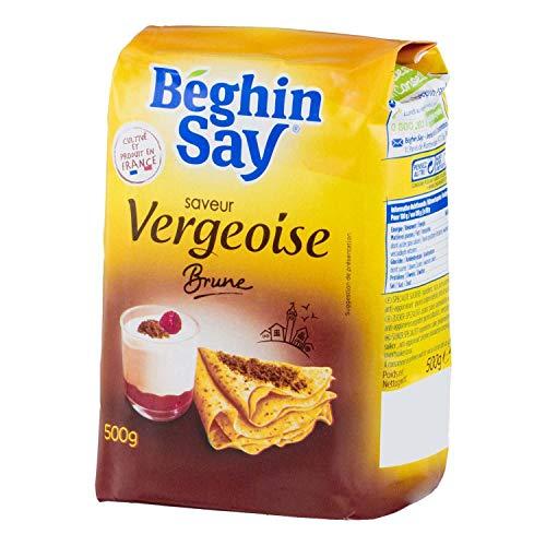 Beghin Say saveur Vergeoise brune 500