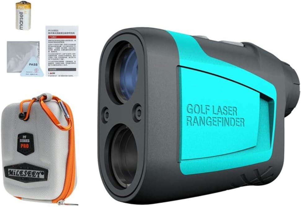 CARACHOME Telemetro Golf, Telémetro Láser De 600M Mini Pendiente De Golf Modo Ajustado Medidor De Distancia Láser Deportivo Telémetro para Golf, Tiro con Arco, Caza