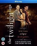 The Twilight Saga Collection - 4-Disc Box Set ( Twilight / The Twilight Saga: New Moon / The Twilight Saga: Eclipse / The Twilight Saga: Bre [ Origine UK, Nessuna Lingua Italiana ] (Blu-Ray)