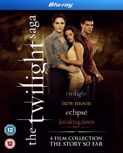 The Twilight Saga Collection - 4-Disc Box Set ( Twilight / The Twilight Saga: New Moon / The Twilight Saga: Eclipse / The Twilight Saga: Breaking Dawn - Part 1 [ UK Import ] (Blu-Ray)