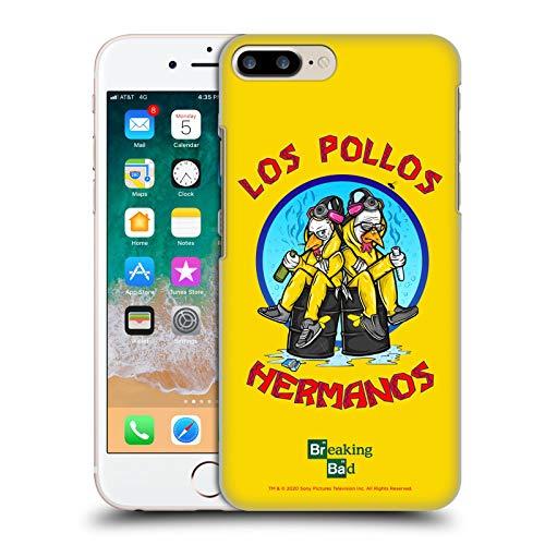 Head Case Designs Licenza Ufficiale Breaking Bad Los Pollos Hermanos 10imo Anniversario Cover Dura per Parte Posteriore Compatibile con Apple iPhone 7 Plus/iPhone 8 Plus