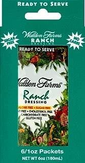 Walden Farms Ranch Salad Dressing Packets - 6 1 oz. packets per box (2 boxes)