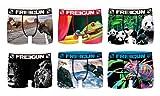 FREEGUN Boxer Packx6 Slip, Multicolore E4, Large (Taille Fabricant:L) (Lot de 6 Homme